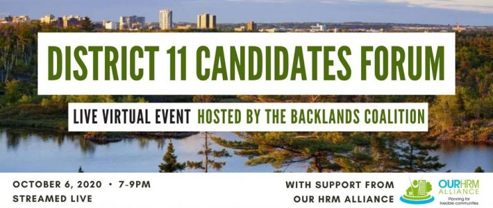District 11 Candidates Forum to be hosted by Backlands Coalition