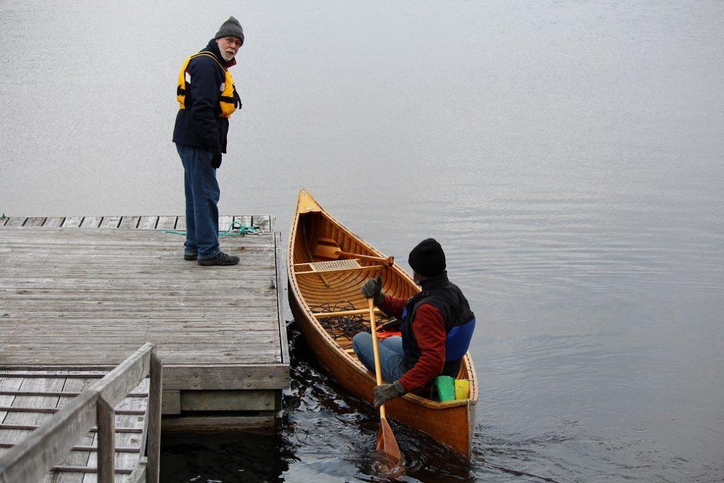 Water testing team
